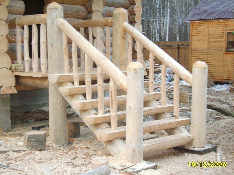 Деревянная лестница в доме фото своими руками